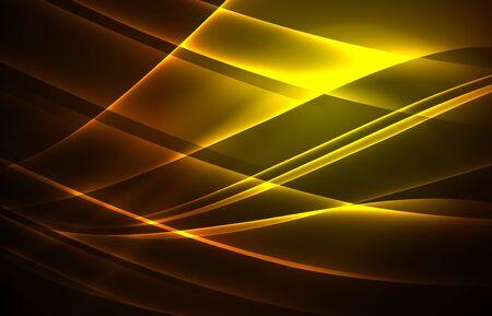 array: Vector polar lights concept background Stock Photo