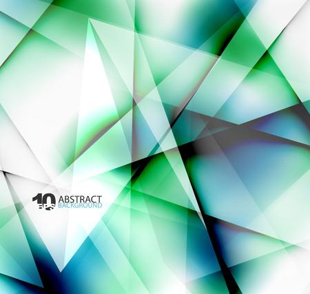 Hi-tech of zakelijke futuristische wazig sjabloon, wazige kleuren met schaduw