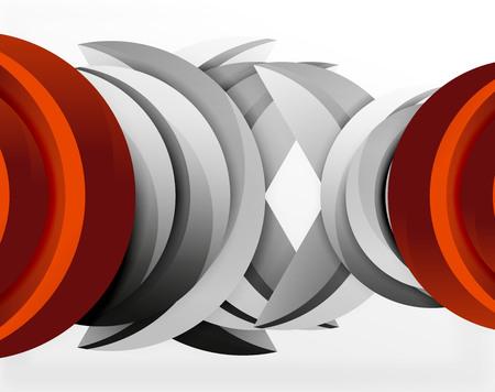 3 D の波のラインをデザインします。動的効果抽象的なベクトル図、モダンな柄のテンプレート
