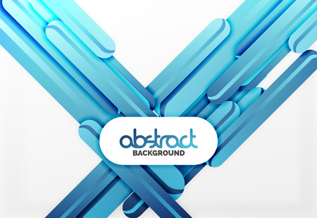 postcard: Straight blue lines vector abstract background