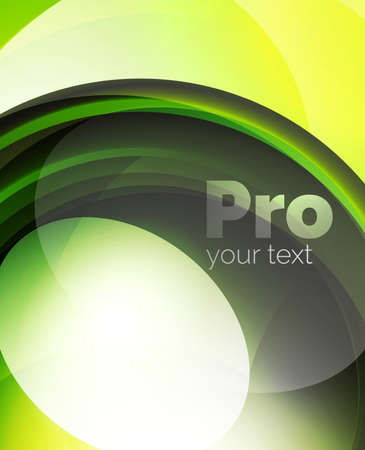 glass reflection: Shiny wave, glass futuristic hi-tech design. Vector abstract background for your text message, photo inside or presentation wallpaper