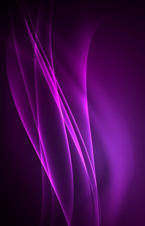 grid background: Vector polar lights concept background Illustration