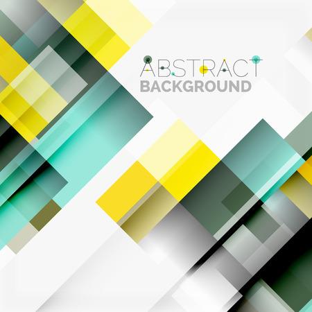 Abstract blocca modello di progettazione sfondo, semplici forme geometriche su bianco, linee rette e rettangoli