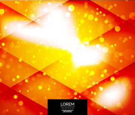 Vector shiny glittering light abstract background Illustration