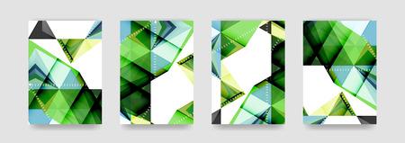 Minimal vector covers background set, geometric futurisrtic style