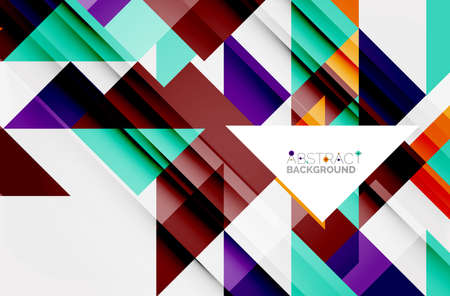 Triangular pattern design background, for business or technology presentation template, brochure or flyer pattern, or geometric web banner. Illustration