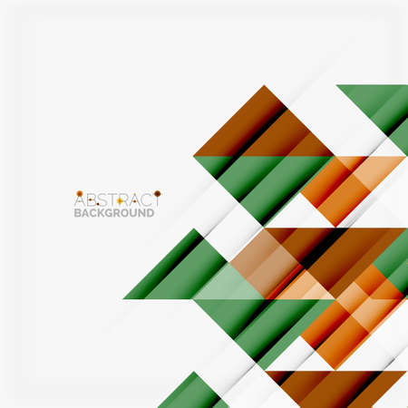 website header: Triangle pattern design background Illustration