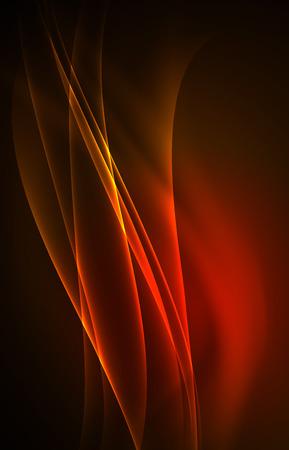 Vector polar lights concept background  イラスト・ベクター素材