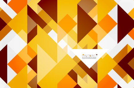 A Triangle pattern design background. Vector business or technology presentation template, brochure or flyer pattern, or geometric web banner Illustration