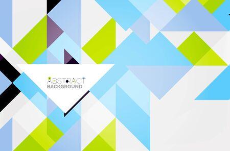 Triangle pattern design background.