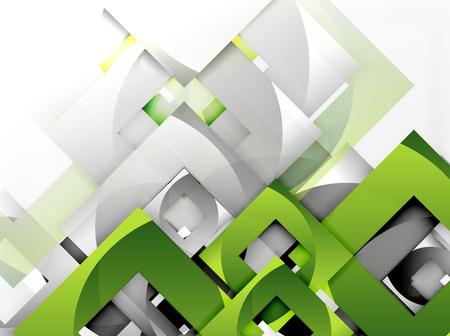 Vector square template background design Illustration