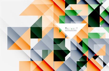 Contexte de conception de motif triangulaire. Modèle de présentation d'entreprise ou de technologie vectorielle, brochure ou modèle de dépliant, ou bannière web géométrique