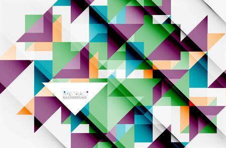 Triangular pattern design