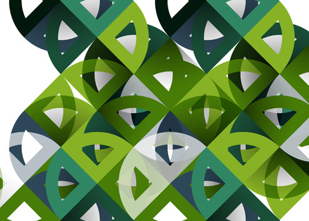 hole: Mosaic mix geometric pattern design. Illustration