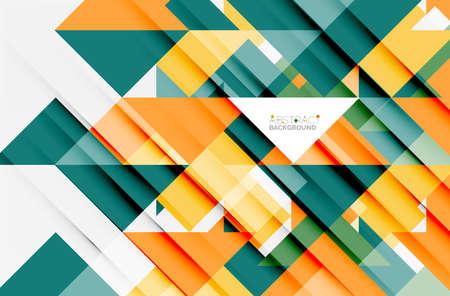Triangle pattern design Illustration