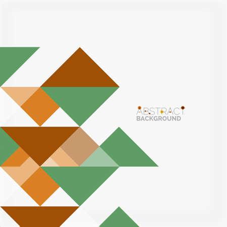 Triangular pattern design . business or technology presentation template, brochure or pattern, or geometric web banner Illustration