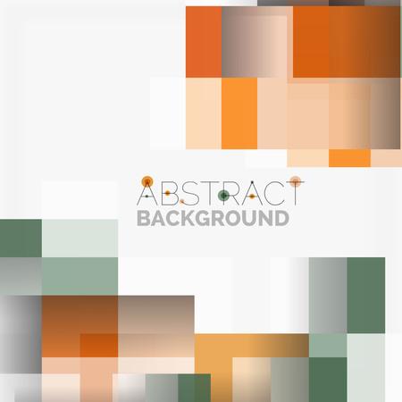Il vettore astratto blocca il fondo di progettazione del modello, forme geometriche semplici su bianco, linee rette e rettangoli