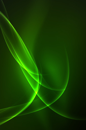ripple effect: Vector glowing wave with smoke design wavy lines Illustration