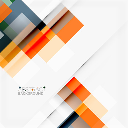 Abstract vector blocks template design background