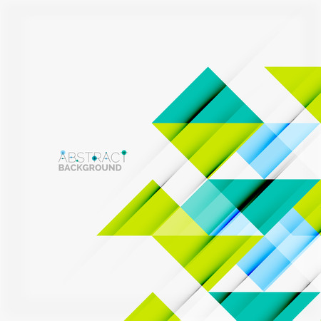 Triangle pattern design background. Vector business or technology presentation template, brochure or flyer pattern, or geometric web banner