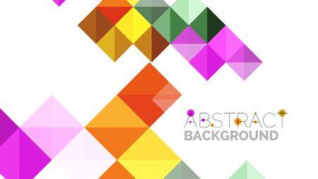 modern business: Modern geometric presentation background