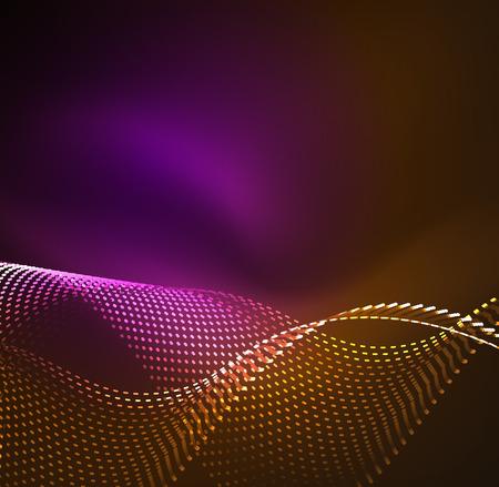 sinergia: Fondo de las partículas de la onda del vector
