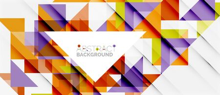 planner: Triangle pattern design background. Vector business or technology presentation template, brochure or flyer pattern, or geometric web banner