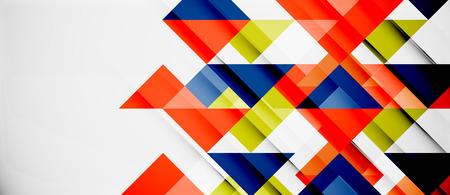 Dreieck Muster Design Hintergrund. Vector Business oder Technologie Präsentation Vorlage, Broschüre oder Flyer Muster oder geometrische Web-Banner
