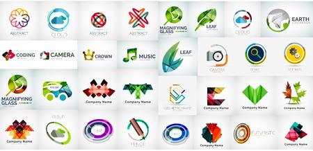Zakelijke pictogramserie Stock Illustratie