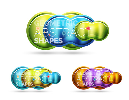 Glass glossy shiny circle round shape, matte realistic material bubble concept with reflection. Abstract banner, concept of technology shape for poster, cover, banner, placard, flyer, presentation, report
