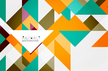 A Triangle pattern design background.