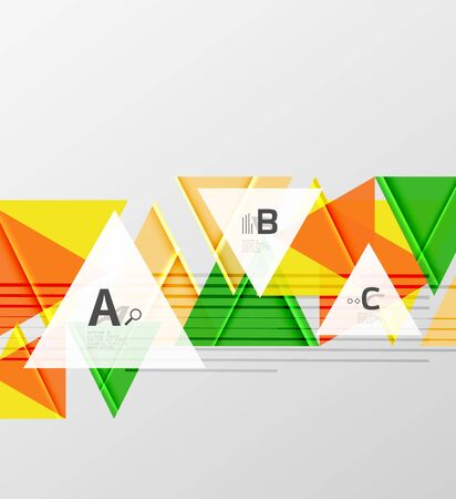 website backgrounds: Colorful abstract shapes background. Minimalistic design Illustration