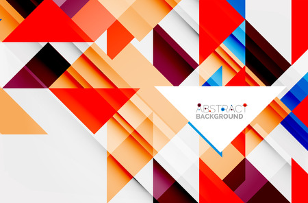 notebook: Triangle pattern design background. Vector business or technology presentation template, brochure or flyer pattern, or geometric web banner