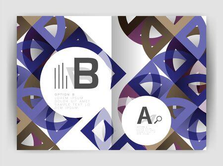 Abstract poster Ilustração