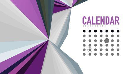 Brochure concept or geometric web banner. Illustration