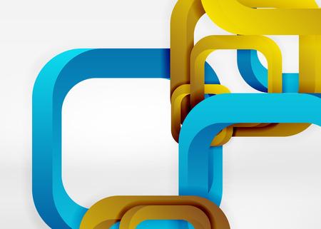 quadrate: Squares geometric shapes pattern design