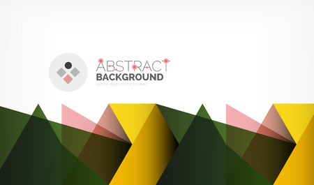 Geometric polygonal vector background Illustration