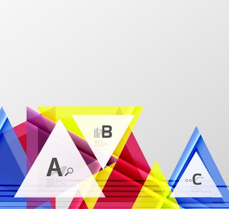 Geometrische Formen abstrakte Darstellung