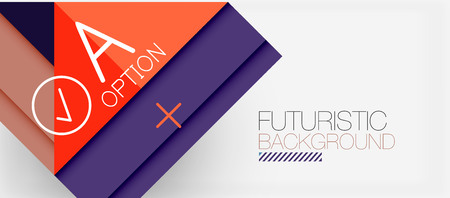 Minimalistic triangle modern banner design, geometric abstract background. Vector hi-tech futuristic Illustration