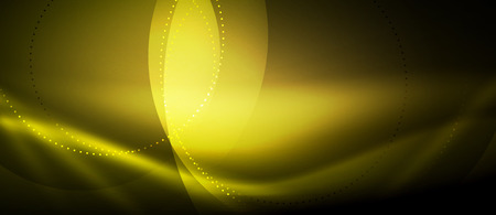 Vector glowing wave neon flowing curve background