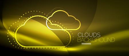 Vector cloud computing, storage concept