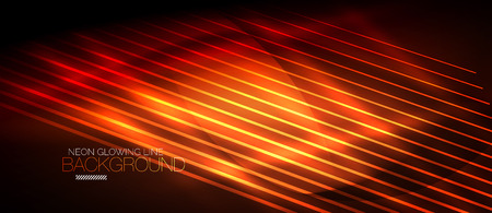 Neon smooth wave digital abstract background illustration.