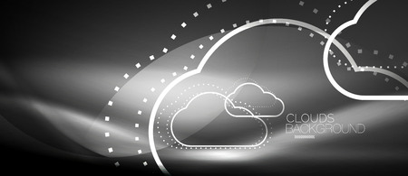 Vector cloud computing, storage concept pattern design