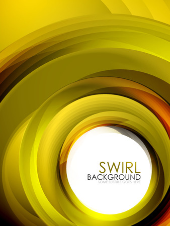 Spiral swirl flowing lines 3d effect abstract background