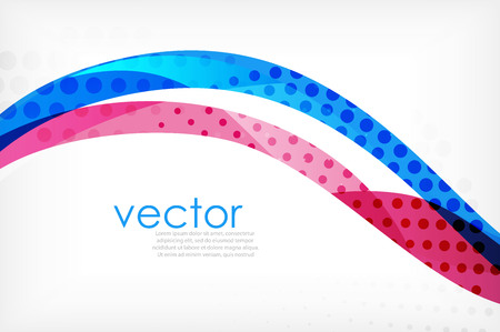 Business corporate abstract backgrounds, wave brochure or flyer design templates. Vector illustration 向量圖像