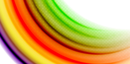 Gel jelly fluid flowing liquid rainbow style colors, wave abstract background, modern minimal colorful design. 일러스트