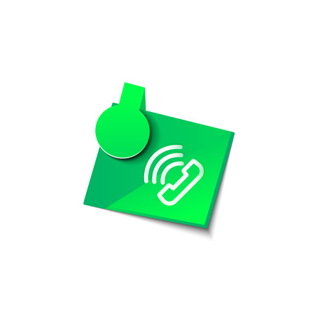 Vector phone support web button  イラスト・ベクター素材