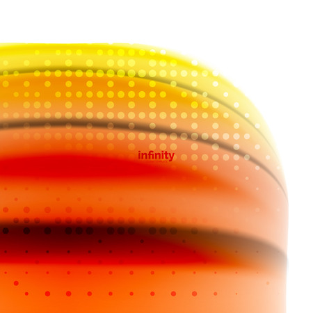 Blurred mixing liquid flowing colors, abstract background. Illustration