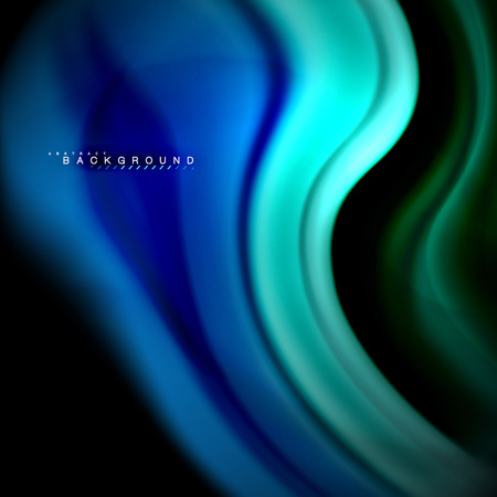 Fluid mixing colors vector wave abstract background design. Colorful mesh waves 矢量图像