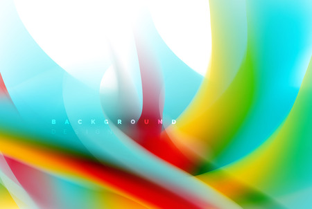 Diseño de explosión de pintura holográfica, flujo de colores fluidos, tormenta colorida. Concepto de movimiento de colores de mezcla líquida, plantilla de diseño de fondo abstracto de moda para presentación de negocios, banner de papel tapiz de aplicación, póster o papel tapiz. Ilustración vectorial Ilustración de vector